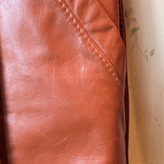 70s Classic Leather Trench - image 7