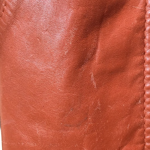 70s Classic Leather Trench - image 3