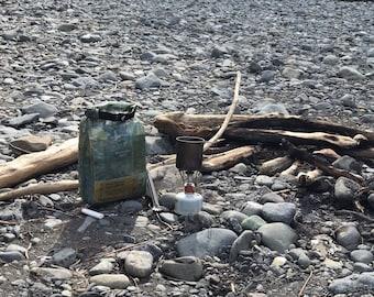 Dyneema Ultralight Waterproof Bear/Food Bag with Rock Throw Kit Cuben Fiber DCF