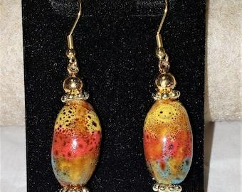 Terracotta Southwest Earrings