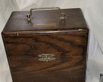 Vintage Frank S Betz Medical Surgical Equipment Box