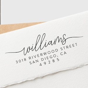 Mailing Address Stamp Wedding Address Stamp Return Address Stamp Address Stamp Self Inking Custom Address Stamp CC21