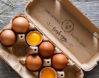 EGG CARTON STAMP, Egg Cartons, Egg Carton, Chicken Egg Stamp, Chicken Egg Carton Stamp, Egg Carton Stamps, Eggs Carton Stamp