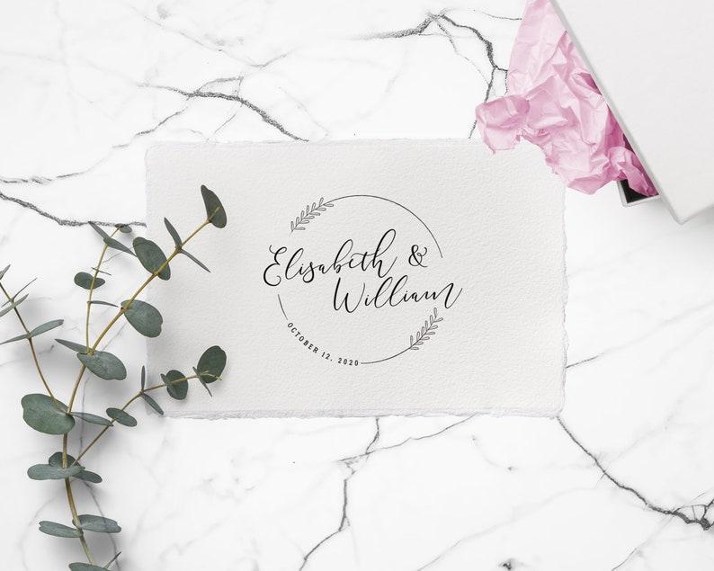 Hochzeitsstempel Datum