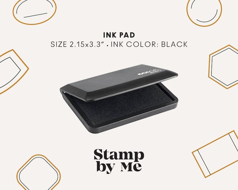 Ink Pad Set INK PAD Ink pad for Paper Ink Pad Big Ink Pad for Stamps Stamp Pad Stamp Ink Pad Stamp Ink Ink Pad Small INK