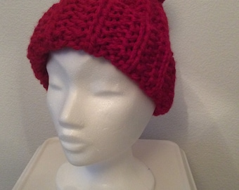 59921f5bdce Ladies Hand Knitted Bobble Hat