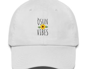 3258ee808e6 OSHUN VIBES Sunflower Dad Hat
