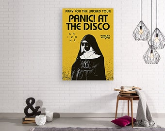 at the Disco A Fever You Can/'t Sweat Out poster art photo print 24x24 in Panic