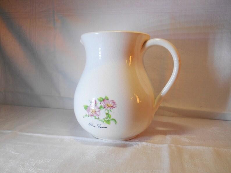Ceramic jug vintage santucci deruta ceramiche city of etsy