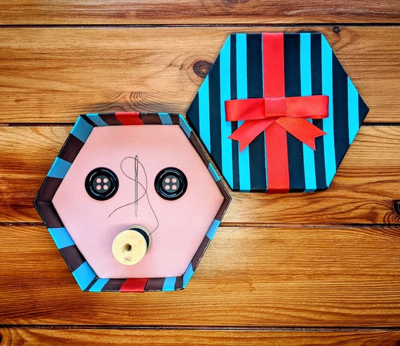 Coraline Box Button Box Other Mother Gift Handmade Prop Etsy