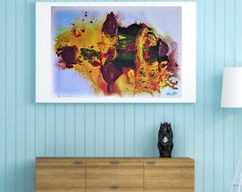 a02683cc4e Print of OIL Painting, modern painting, abstract painting, print, lamina,  oleo impreso, abstract art, abstract oil paint, abstracto,wall art