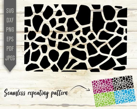 Giraffe Seamless Pattern Svg Repeatable Pattern Repeat Etsy