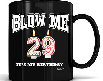 29th Birthday Gift29th Adult Mug Funny Mughappy