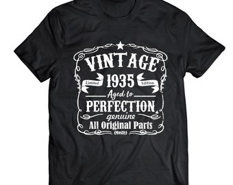 dec18dda8ea Vintage 84th Birthday shirt
