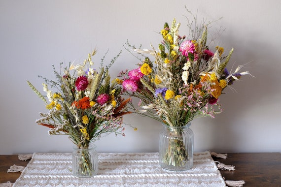Trockenblumenstrauß Landstreicher in zwei Größen , dried bouquet, Trockenstrauß, dried Flowers, Trockenblumen (DHL)