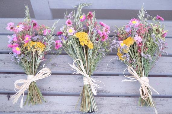 Trockenblumenstrauß Blumenwiese, klein und fein, dried bouquet, Trockenstrauß, dried Flowers, Trockenblumen,