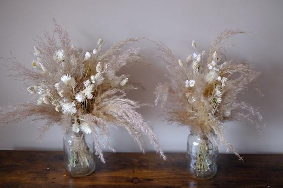 Trockenblumenstrauß Pampas, 2 Größen , dried bouquet, Trockenstrauß, dried Flowers, Trockenblumen, (DHL)
