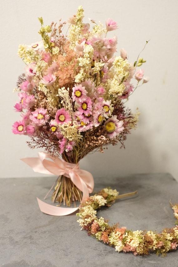 Brautstrauß Serie Emilia, Bridal Bouquet, dried, Trockenblumenstrauß, dried bouquet, Trockenstrauß, dried Flowers, getrockneter Strauß