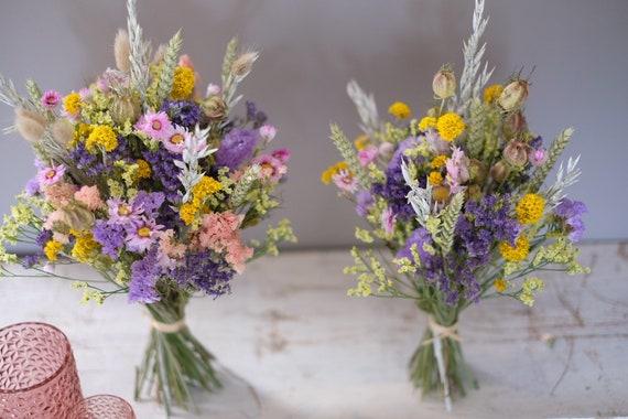 Trockenblumenstrauß Pastelli  in zwei Größen , dried bouquet, Trockenstrauß, dried Flowers, Trockenblumen,