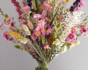Dry flower bouquet, dried bouquet, dry bouquet, dried flowers, pampas grass bouquet,