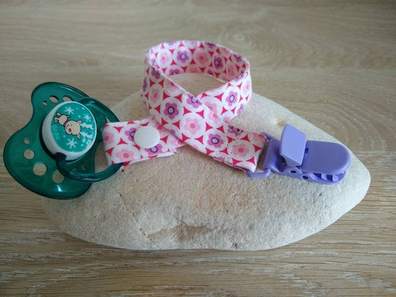 Personalised nipple attachment in baby and child fabrics