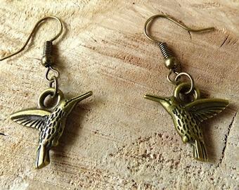 Ohrringe exotisches Harz Tukan Vogel gelb schwarz gr/ün Messing Bronzeperlen personalisierte Geschenke Weihnachten Hochzeit Zeremonie G/äste Herrin Muttertag Paar