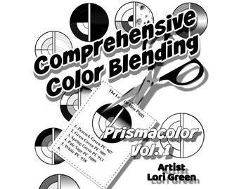 Intermediate Black and White Home Printer Friendly Version Of The Comprehensive Color Blending Intermediate Art Course Prismacolor