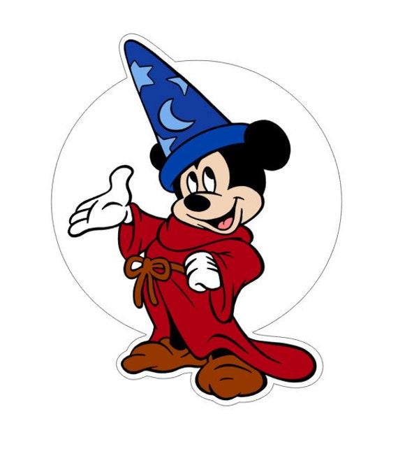 Svg Digital Download Fantasia Sorcerer S Apprentice Mickey Etsy