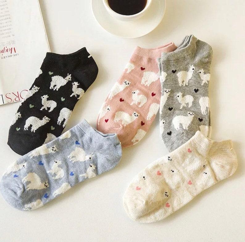 4. Llama Socks