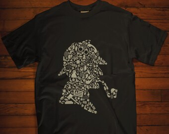 a65f9d040a6f Sherlock Holmes T-Shirt Detective Shirt Adult Unisex T-Shirt