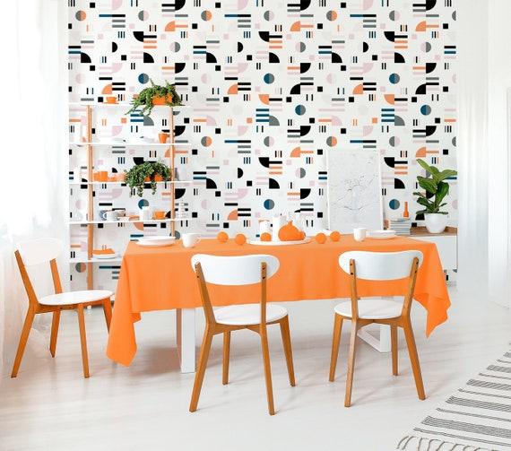 Modern Removable Wallpaper Self Adhesive Wall Mural Etsy