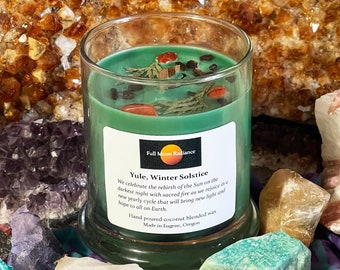 Yule Candle, Winter Solstice Candle