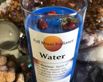 Water Element Candle, West Direction