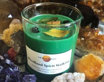Woodland Spirit Shaman Journey Candle