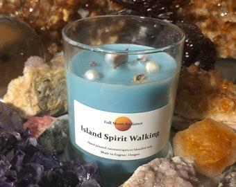 Island Shaman Journey Candle