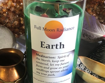 Earth Element Candle, North Direction