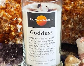 Goddess Candle, Spirit Element