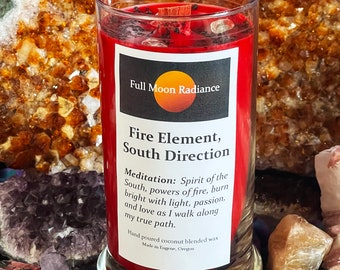 Fire Element Candle, South Direction