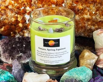 Ostara Candle, Spring Equinox