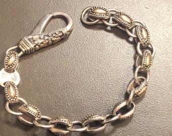 e508fe83dda8 John Hardy Sterling Silver and 18K Gold Link Bracelet