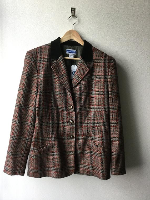 Vintage women's Pendleton blazer