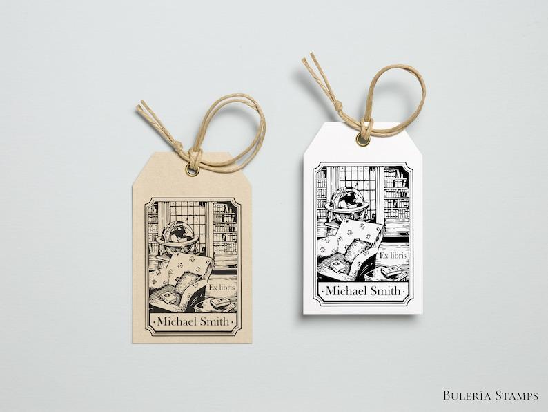 Library ex libris stamp Library Stamp Library illustration ex libris stamp Book stamp library bookplate custom bookplate stamp