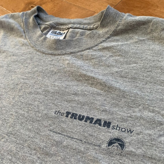 1998 The Truman Show Promotional Movie T-shirt Vin
