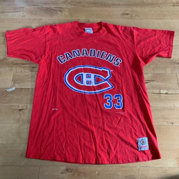 Vintage 1994 Montreal Canadians Patrick Roy Tee NH
