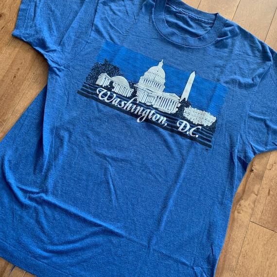 80s Washington DC Tourist Attractions T-shirt Vint