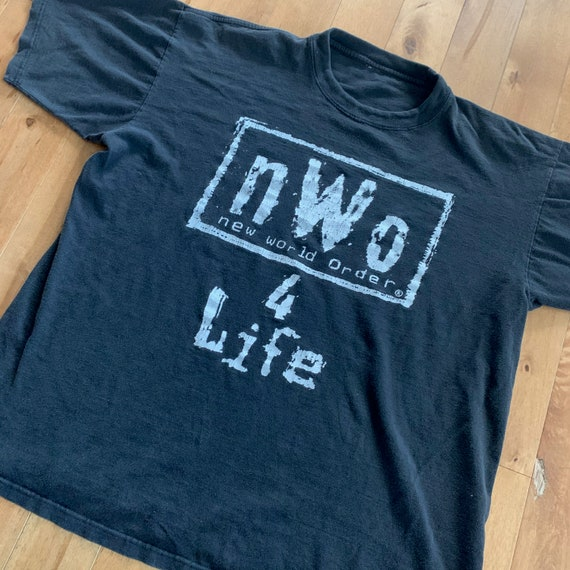 Late 90s nWo New World Order 4 Life Wrestling Tee