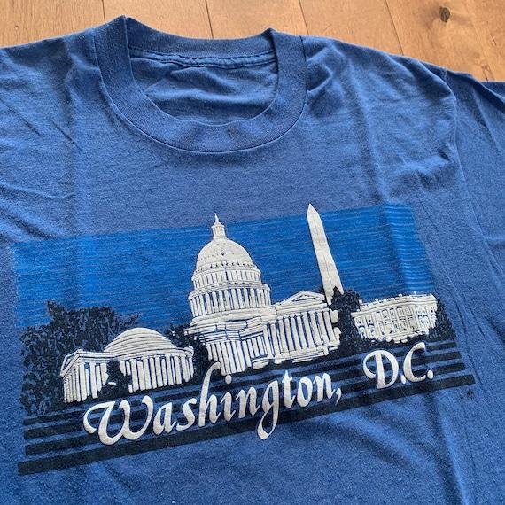 80s Washington DC Tourist Attractions T-shirt Vin… - image 3