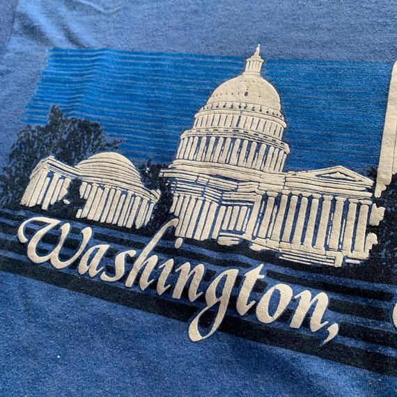 80s Washington DC Tourist Attractions T-shirt Vin… - image 4