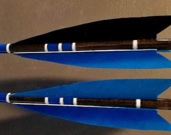 Traditional Cedar Arrows (Set of 6)