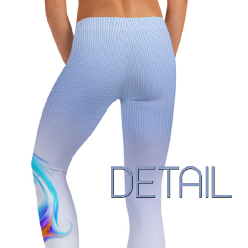 Yoga Wear Leggings Active Wear Gym Pants Tribal Workout Clothes Gift For Her Running FitnessYoga Sugar Moon Outfitters